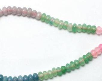 Rainbow Glass Beads - 130 pieces - 4mm - Jewelry Making