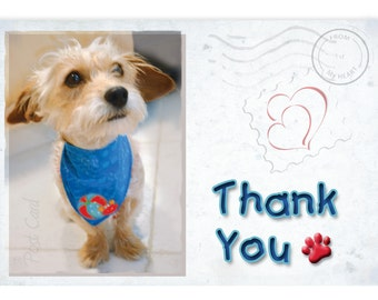 Thank You Cards | Retro Cards | Eco-friendly | Rescue Dog | Funny Cards | Blank Cards | Pet Products | Stationary | Blank Thank You Cards