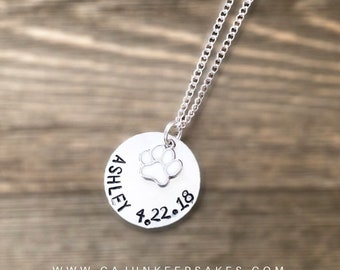Centerpiece | Choose Your Charm | Necklace | Custom | Personalized Handstamped Jewelry