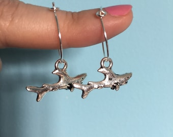 Shark Hoop Earrings