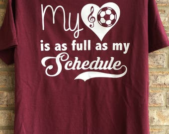 My heart is as full as my schedule