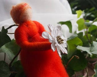 Fairy Waldorf Nature Doll Felted