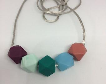 Silicone Teething necklace 'Neutrino' BPA free