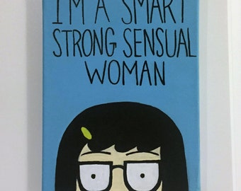 Tina Belcher Canvas