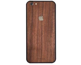 coque iphone 6 plus en bois