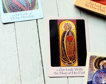 Grace of the Holy Mother/ Mother Mary oracle cards reading / one card reading