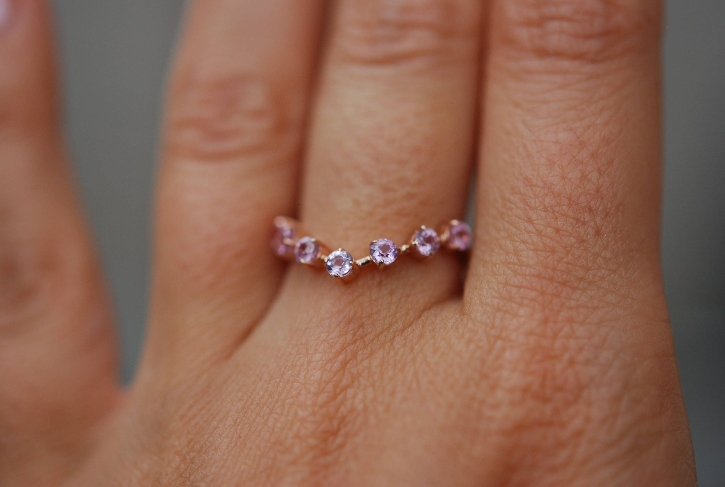and collection peach bel halo ring with canto product sapphire engagement morganite home filigree