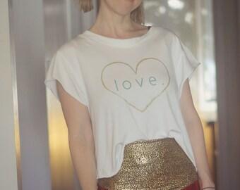yoga top, yoga shirt, heart tshirt, heart shirt, love shirt, love tshirt, love top