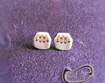 Fun Emoji Birthday Cake Earrings