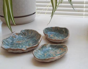 Pinch Pot Set - Handmade Decorative Pottery
