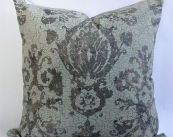 Monreale Damask Pillow Cover in Bronze