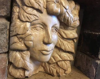 Woodland Nymph Carving