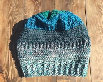Crochet Slouchy Beanie *Ready to Ship*