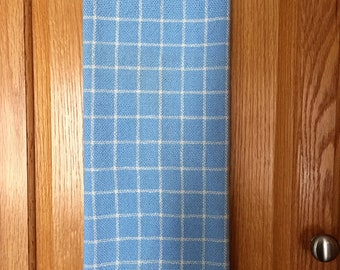 Windowpane Pattern Dish Towel