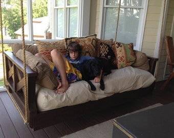 """Custom Built Daybed Swings , Hand built one at a time , """"Save 10% by re-pinning or pinning 3 of my shop items to your Pinterest boards."""""""