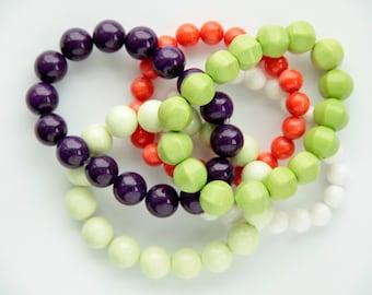 Semi Precious Spring Bracelet