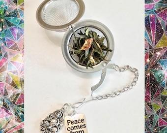 Peace tea infuser