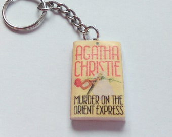 Agatha Christie - Murder on the Orient Express - Key ring / Key chain