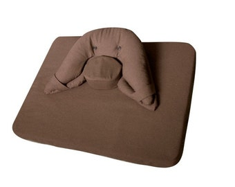 Moonleap Meditation Cushion and Mat Combo - Large Size