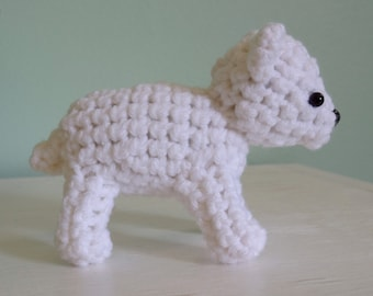 "White Polar Bear Plush ""Bareol"""