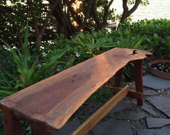 Tropical Hardwood Bench