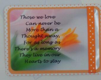 photo sympathy cards