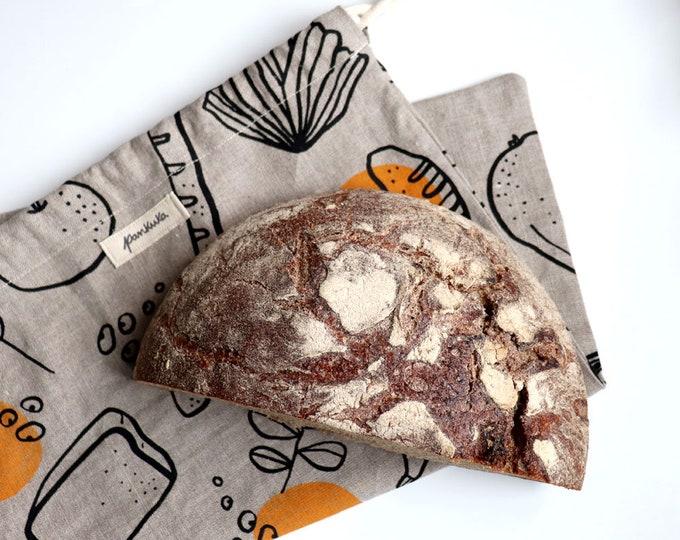 Good Food // Linen Bread Bag