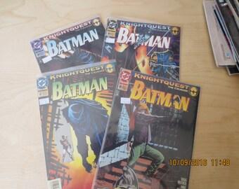 BATMAN THE CRUSADE 508, 508, 585, 587,
