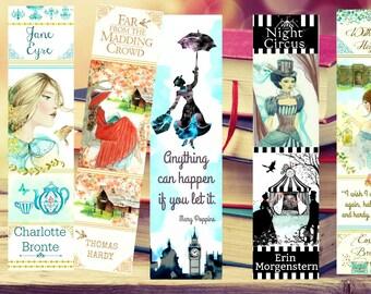 Literary Bookmarks