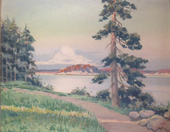 American Marine Landscape New York Dunes and Pines at the Shore