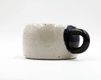 Wheel Thrown 200 ml Stoneware Ceramic Mug, Drinkware, Coffee Tea Mug, Handmade Gift, Tumbler
