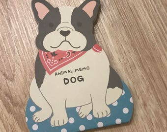 French Bulldog Memo Paper