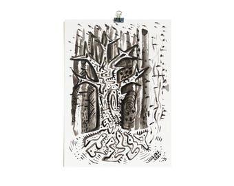 Baobab - Small Original Painting