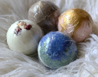 Set of 4 Mother's Day bath bomb gift set