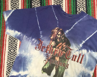 Jethro Tull Aqualung Tie Dye T-shirt
