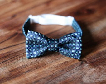 Baby boy elegant bow tie. High quality polyester/viscose fabric. Size 0-24 months. Baby Photo Prop