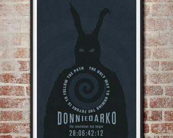 Donnie Darko Frank the Bunny Movie Poster