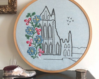 The Abbey Embroidery Pattern