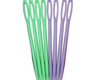 Plastic Yarn Needles (5 piece set)