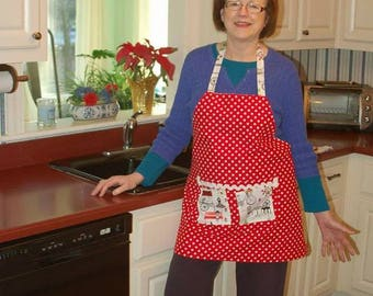 My Cafe' Apron ... it's Reversible!!
