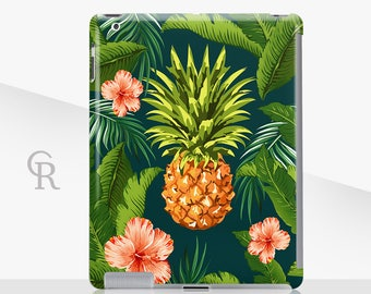 Pineapple iPad Case For - iPad 2, iPad 3, iPad 4 and iPad Mini, iPad Air, iPad Air 2, iPad Mini 4 Snap on Case