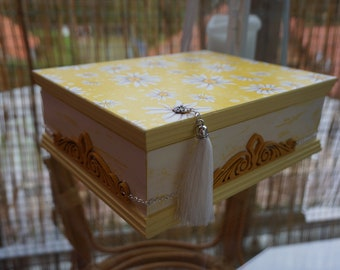 Handmade Decoupage Wooden Box