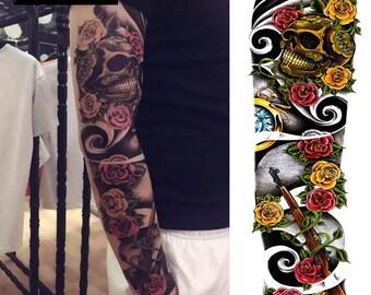 Temporary Tattoo Full Sleeve