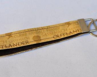 Outlander Fabric Key Chain, Fabric Key Fob