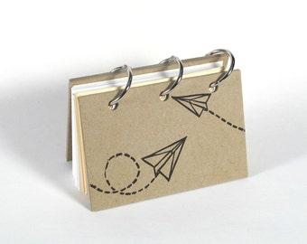 Card File Address Book (Paper Planes)