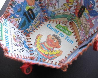 Paper Basket, Little Golden Book, Count to Ten (Sesame Street)