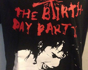 Birthday party, drunk t-shirt, Nick cave