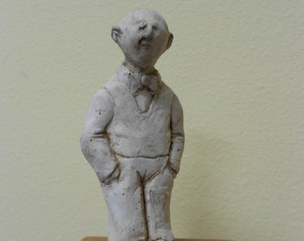 One of a Kind Small Handmade Stoneware Sculpture
