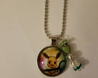 Handmade Evee Necklace with Pendant
