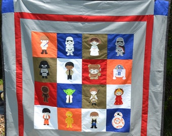 Star Wars Make-it-yourself Quilt/Blanket kit!